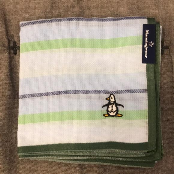 Other - Japan Munsingwear handkerchief Green and Blue